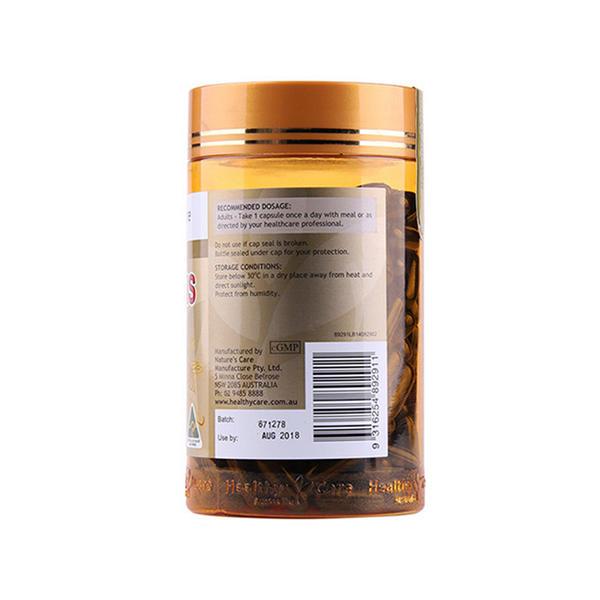 澳洲HealthyCare 蜂胶胶囊2000mg