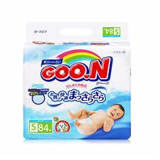 日本大王纸尿裤尿不湿S84片(新旧版本图案随机发)