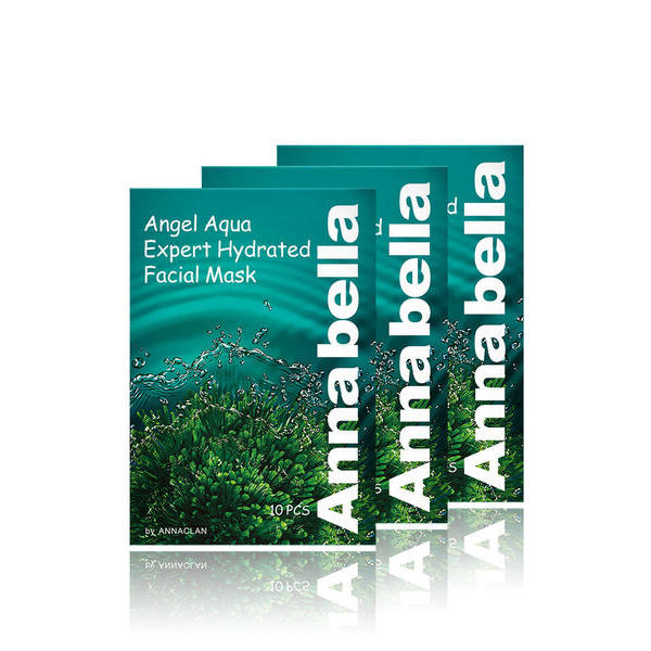 【3盒装】泰国ANNABELLA 安娜贝拉 海藻面膜 30克*10片/盒