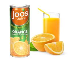 杰事芒果汁 230ml 含果肉芒果 泰国进口芒果 橙子