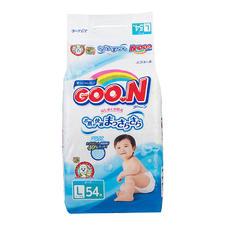 日本大王纸尿裤L54