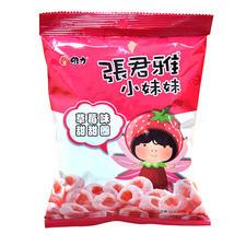 中国台湾张君雅草莓甜甜圈40g