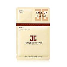韩国jayjun水光植物干细胞面膜玻尿酸补水水光面膜贴白色10片/盒