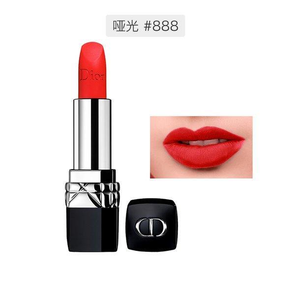 法国Dior 迪奥 烈艳蓝金唇膏 3.5克 #哑光888号