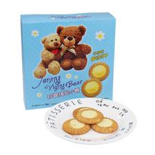 香港珍妮维尼小熊牛奶味蛋挞饼干120g