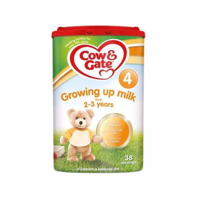 【2罐装】英国牛栏4段婴幼儿奶粉 2-3岁宝宝奶粉800g*2罐(新老包装随机发货)