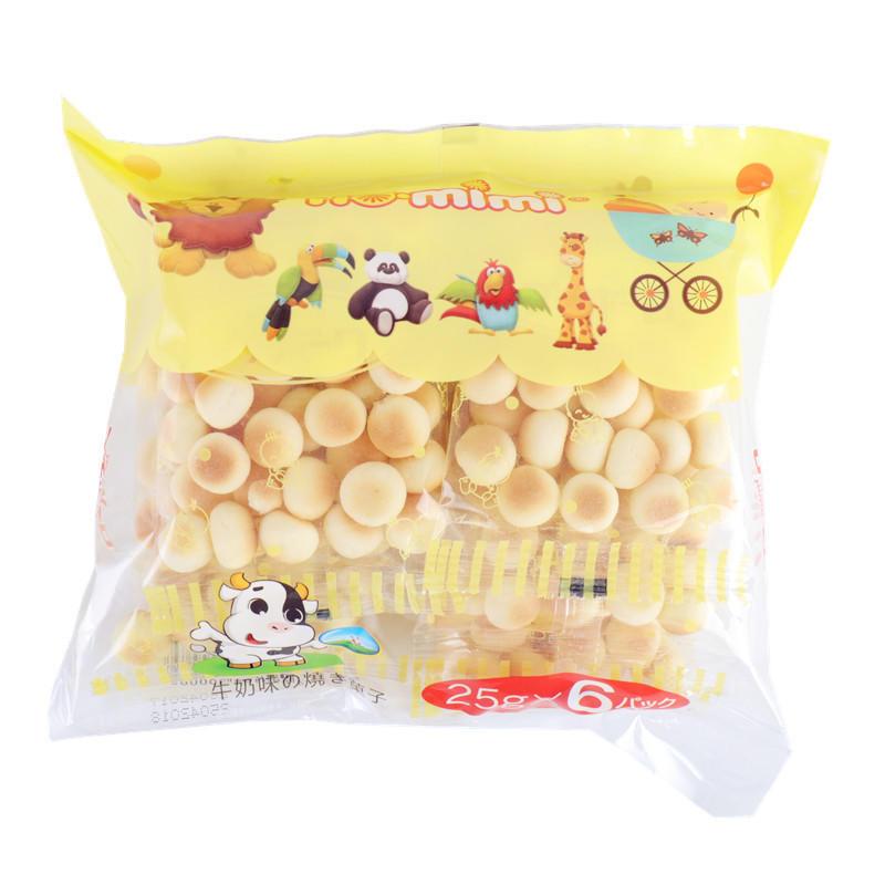 HO.mimi牌牛奶小馒头(饼干)新包装