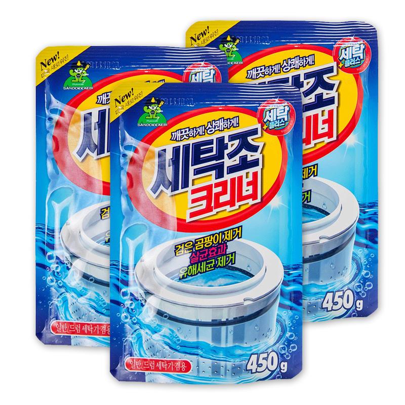韩国山鬼洗衣机槽清洗剂450g/袋
