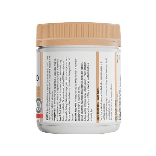 澳洲swisse钙片+维生素D150粒