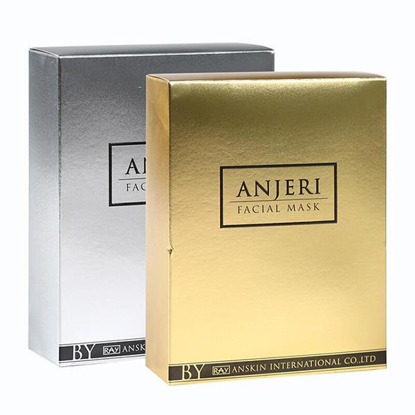 泰国 ANJERI 面膜10片 /盒 金色