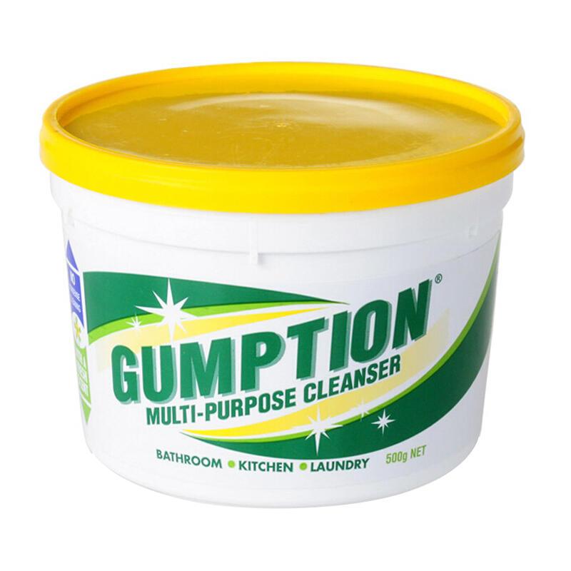 澳洲经典版Gumption家庭万用清洁膏500黄色