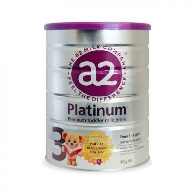 【澳洲直邮】澳洲a2白金系列婴儿奶粉3段900g 6罐