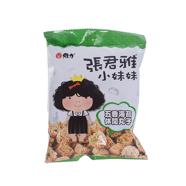 中国台湾 张君雅五香海苔丸子80g