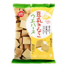 日本星七豆乳威化饼干75g