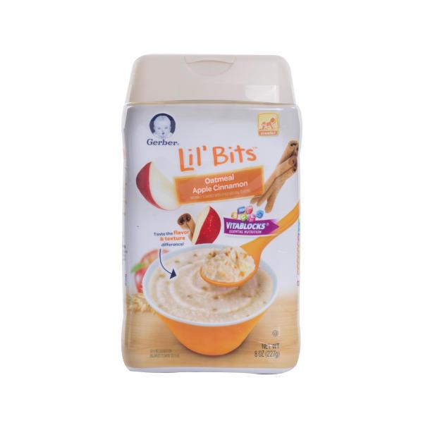 美国Gerber嘉宝3段苹果肉桂谷物米粉227g(新老包装随机发货)