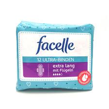 德国facelle卫生巾 夜用4滴水28.5cm