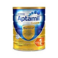 【2罐装】澳洲Aptamil爱他美金装1段900g*2罐 0-6个月婴幼儿奶粉