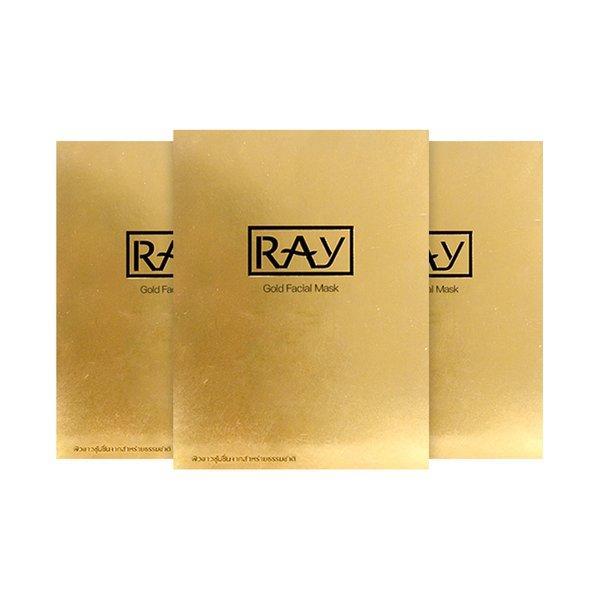 泰国RAY妆蕾版 蚕丝面膜 【3盒】*金色