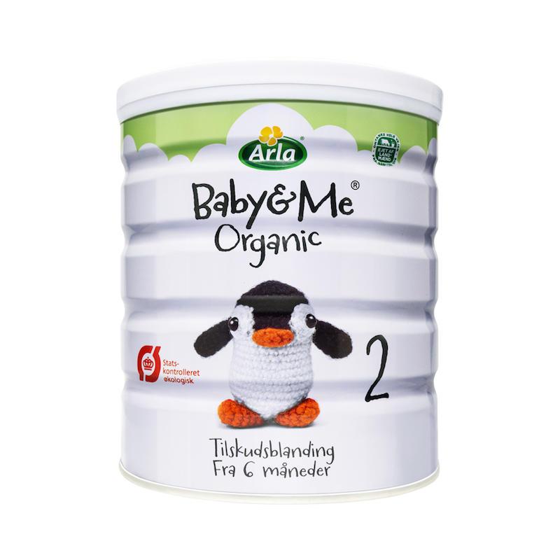 丹麦阿拉BabyMe婴儿有机奶粉2段6个月至4岁 1桶