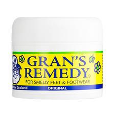 澳洲Gran'sRemedy老奶奶臭脚粉-黄色原味50g