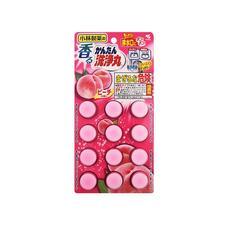 日本小林排水管清道夫12片 疏通除臭 桃子味