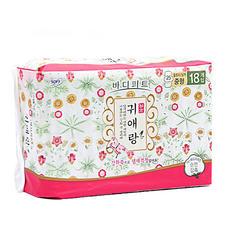 韩国LG贵爱娘日用卫生巾25cm18片