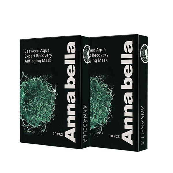 泰国 安娜贝拉黑金海藻面膜10片/盒
