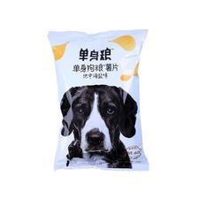 单身狗粮 日式青芥味 美式番茄味 薯片 70克/包 日式青芥