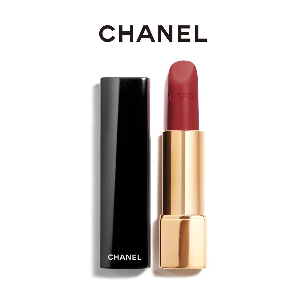 香奈儿Chanel口红 丝绒58# 红棕豆沙色