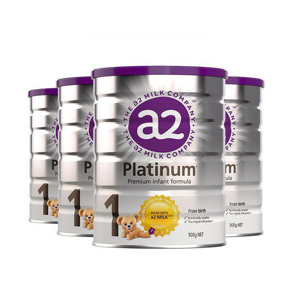 【6罐装】新版澳洲原装a2白金婴儿奶粉1段 0-6个月宝宝奶粉900g*6罐