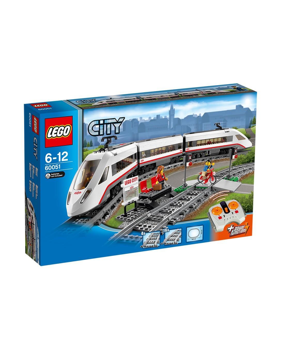 丹麦乐高legc60051高速客运列车(城市系列)