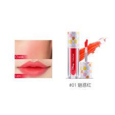 泰国Cathy Doll 迪斯尼联名系列二合一唇彩腮红2.4g #01 番茄红