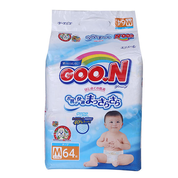 日本GOO.N大王纸尿裤M64