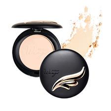 泰国正品Mistine羽翼粉饼   定妆遮瑕 保湿控油 轻薄持久 S2自然色