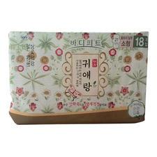 韩国LG贵爱娘小型日用卫生巾21cm18片