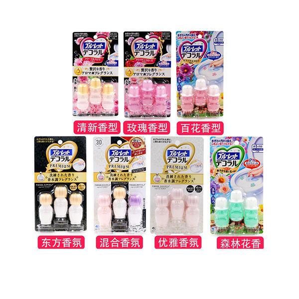 日本小林制药马桶开花除臭除菌凝胶    薄荷清香型