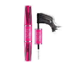 泰国 Mistine 双头4D睫毛膏紫红色管 5.5g 【不晕染纤长浓密防水防汗】
