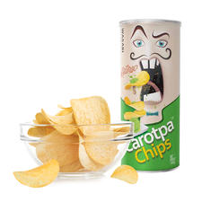 Carotpa扑克牌薯片芥末味100g