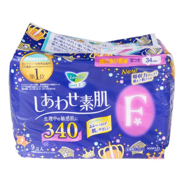 日本花王卫生巾F系列夜用34cm9片