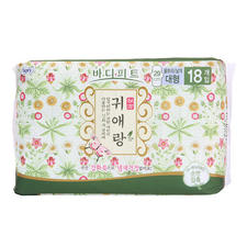 韩国LG贵爱娘加长日用卫生巾29cm18片
