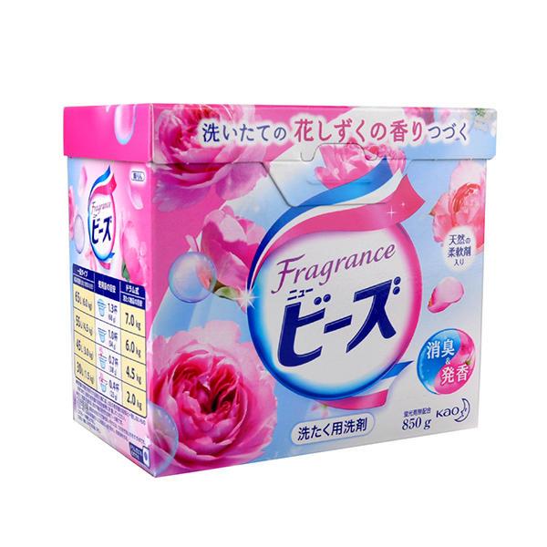 日本花王洗衣粉玫瑰果香800g