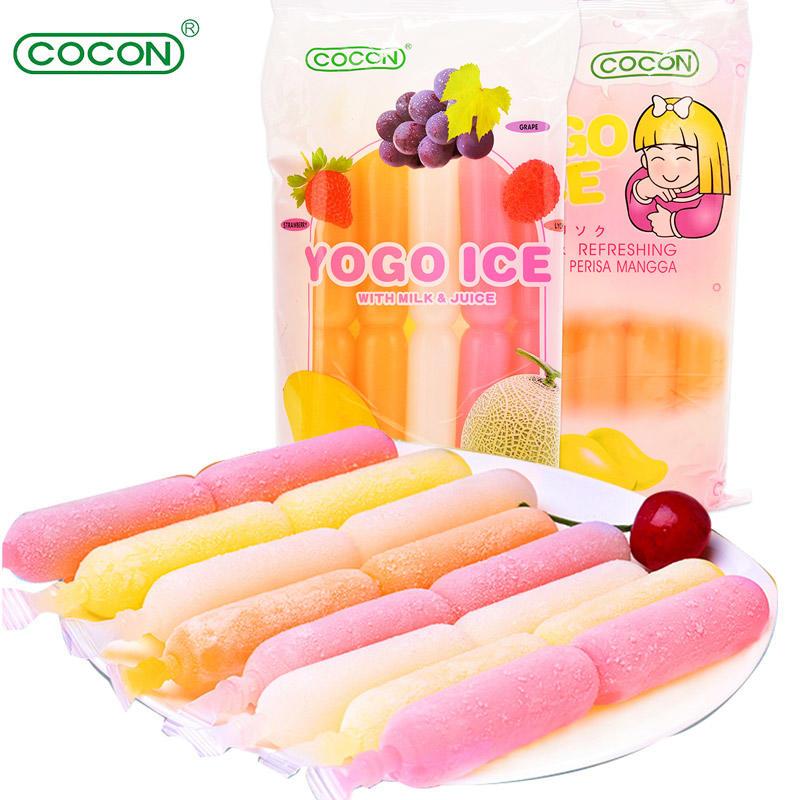 马来西亚 可康牌 优果多口味水果饮料 450ml