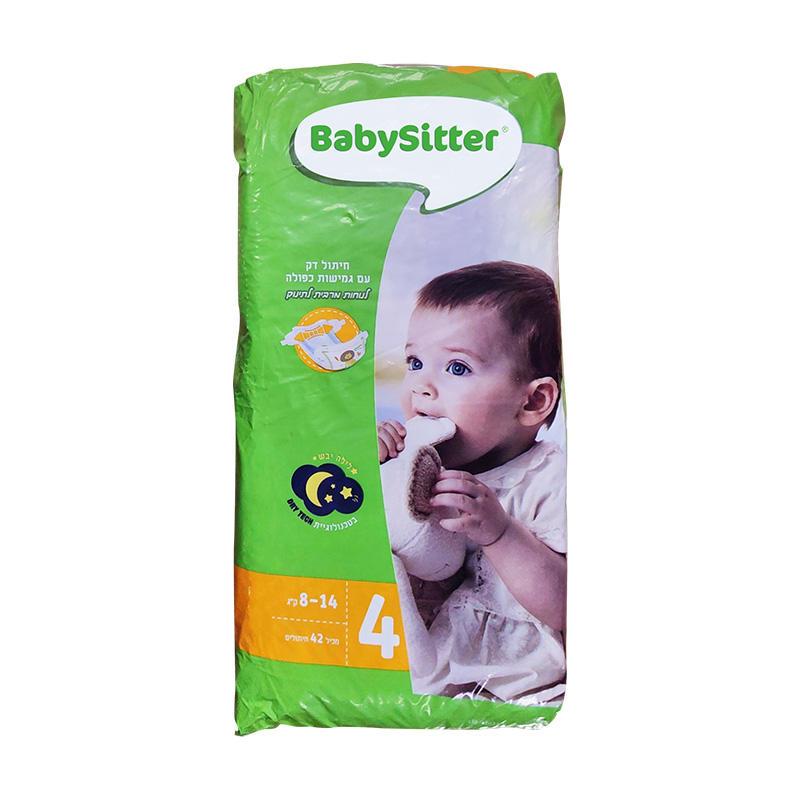 以色列贝贝思(babysitter)纸尿裤 M42片(8-14Kg )