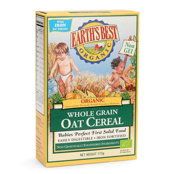 美国爱思贝婴幼儿有机全谷燕麦粉175g*2盒