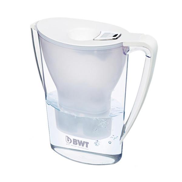 倍世(BWT)德国原装家用滤水壶净水器2.7L阻垢款白色