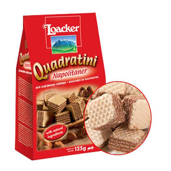 奥地利莱家榛子味粒粒装威化饼干125g