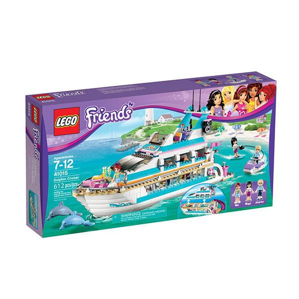 丹麦乐高legc41015海豚号游艇(女孩系列)
