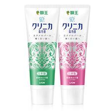 日本狮王酵素美白牙膏130g 百花薄荷